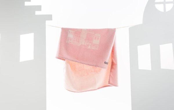 babydeken roze cashmere mats en merthe