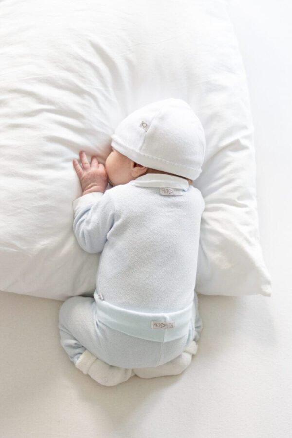 Baby broekje blauw