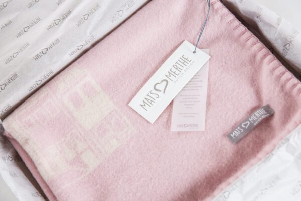 Cashmere deken roze Mats en merthe