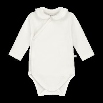 baby romper off white